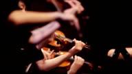 Violin at a concert video