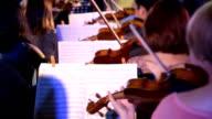 Violin performing video