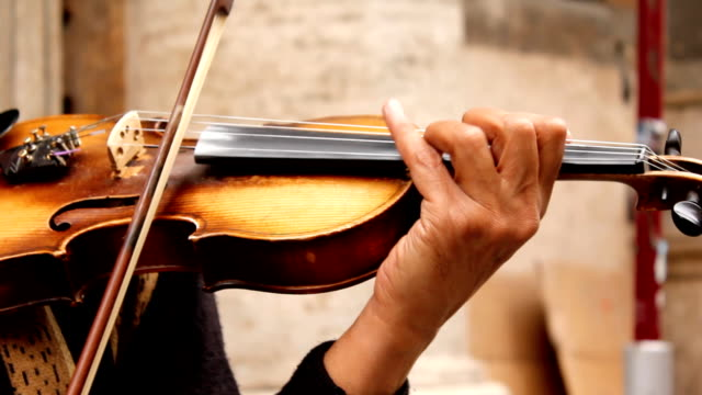 Violin player (HD) video