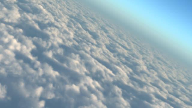 Virtual 3D Cloud Flythrough video