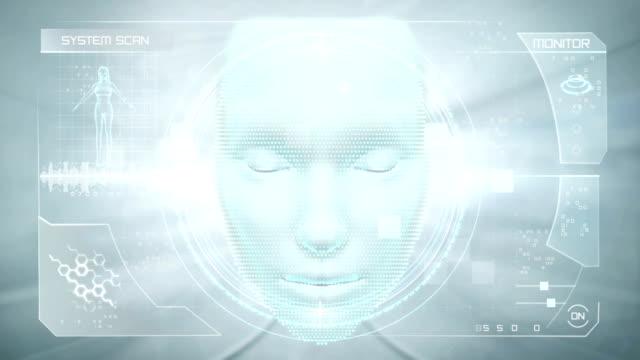 Virtual face interface video