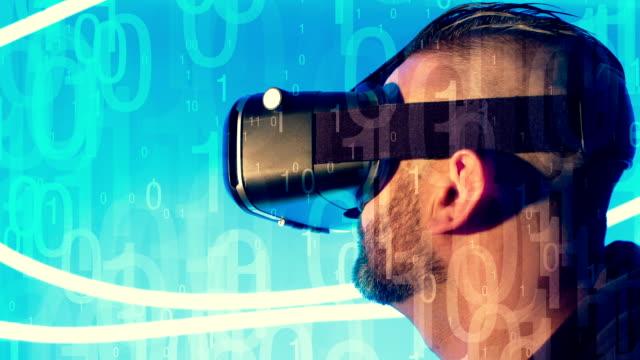Virtual reality headset video