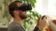 Virtual Reality headset. video