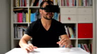 DOLLY SHOT: Virtual reality simulation video