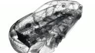 Virtual Wireframe Car - 1080p video