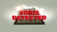 Virus Detected Text In The Digital City video