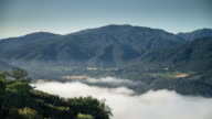 Vista of Morning Fog in Carmel Valley - Time Lapse video