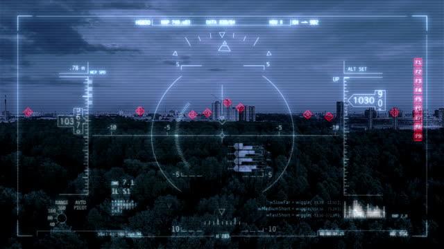 Visual target video