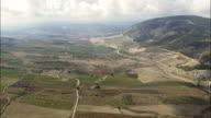 Vita And Landscape  - Aerial View - Sicily, Province of Trapani, Vita, Italy video
