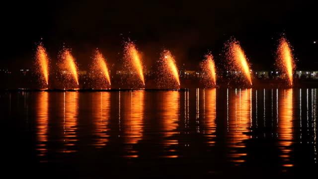 Volcano Fireworks. video
