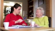 Volunteer Making a Home Visit video