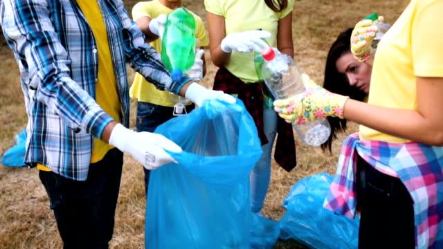 Volunteers in nature video