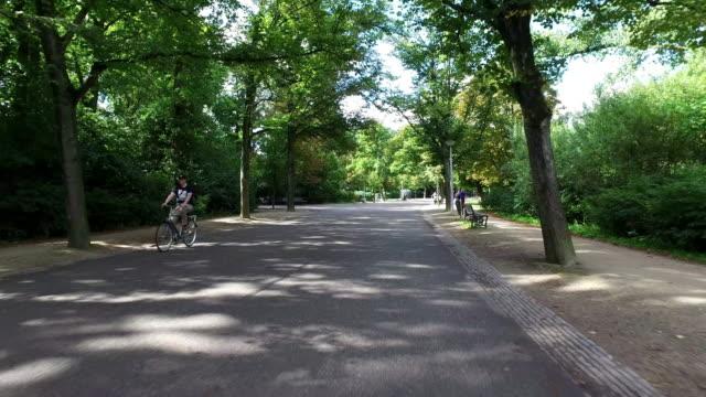 POV: Vondelpark Amsterdam video