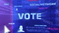 Vote Button video