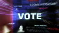 Vote Button (Dark) video