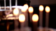 Votive Candle in a Church video
