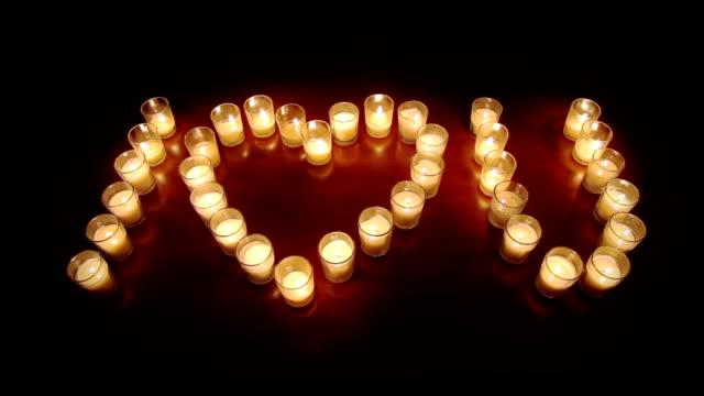 Votive candles Love video