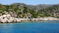 Voyage. Turkey, Kemer, Kekova-Simena Region, Western Taurus video