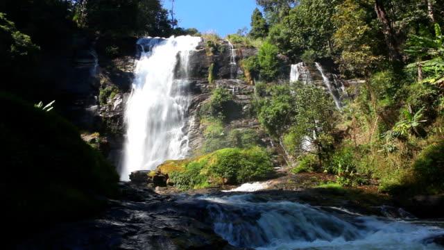 Wachiratarn waterfall. video