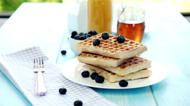 Waffles Breakfast video