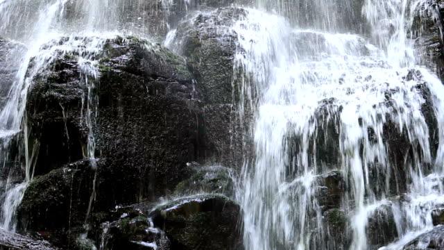 Wahkeena Falls Trail waterfall detail video