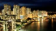 Waikiki Beach Time Lapse video
