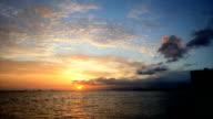 Waikiki dawn time lapse HD - Oahu video