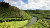 Wailua River, Kauai, Hawaii video
