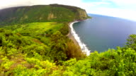 Waipio Valley Aerial video
