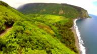 Waipio Valley in Hawaii video