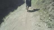 Walk barefoot video