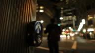 Walk button time lapse video