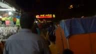 SIEM REAP, CAMBODIA - NOVEMBER 2015: Walking down market street video