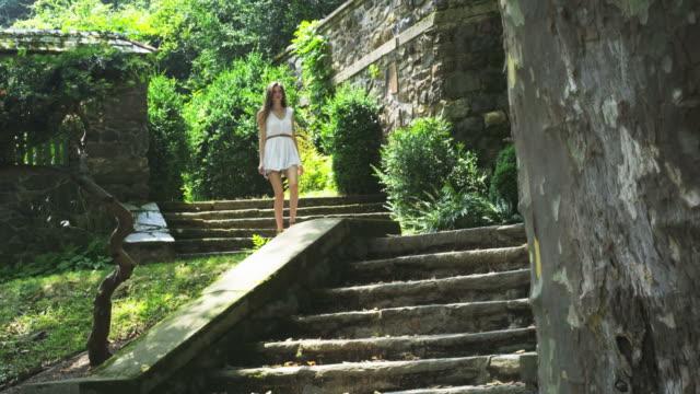Walking down stairs video