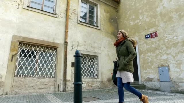 Walking down the street video