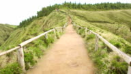 Walking From the Sete Cidades video