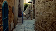 Walking in ancient eastern town video