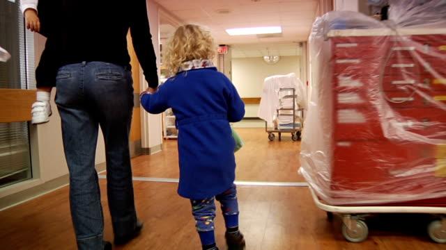 Walking In Hospital video