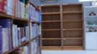 Walking in Library video