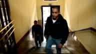 Walking in school video