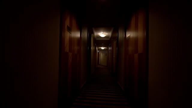 Walking in the hotel hallway video