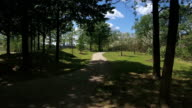 POV Walking on a Pittsburgh Trail video