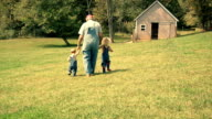 Walking On The Farm video