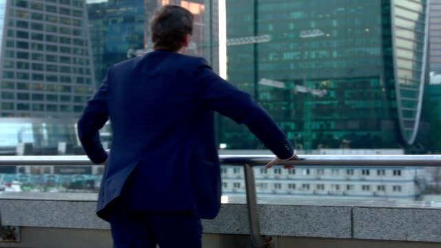 BUSINESSMAN walking outdoor video
