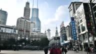 walking street in Shanghai video