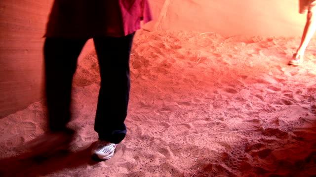 HD: Walking through Antelope Canyon video