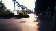 Walking through Downtown of Nicosia Cyprus video