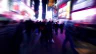 Walking through New York. video