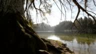 Walking throughout Plitvice Lakes National Park video HD video