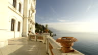 Walking throughout Trieste Miramare Castle video HD video